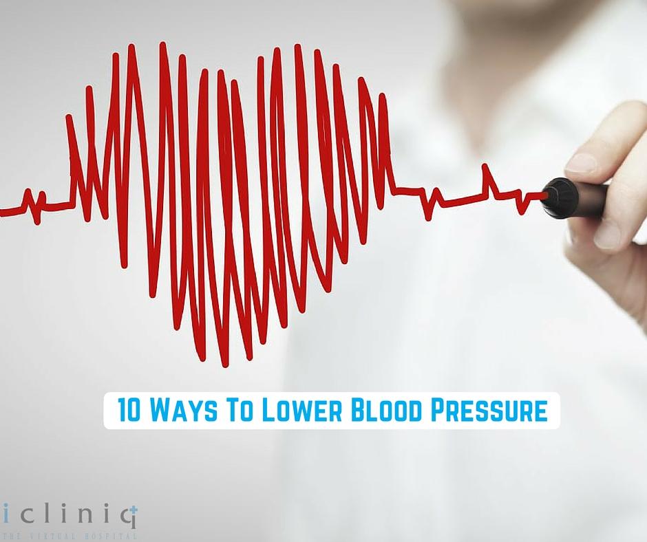 10 Ways To Lower Blood Pressure