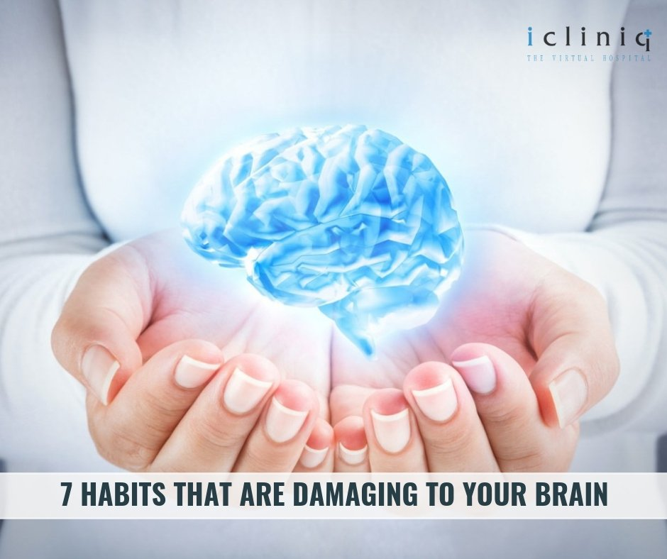 7 Habits that are Damaging to Your Brain
