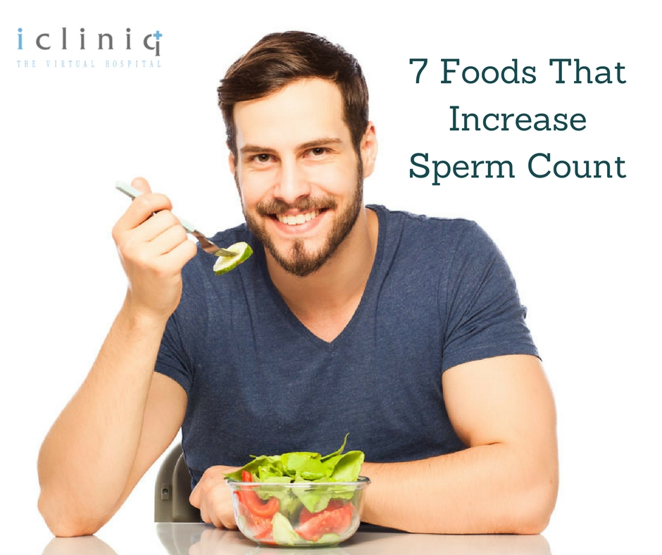 7 Foods That Increase Sperm Count