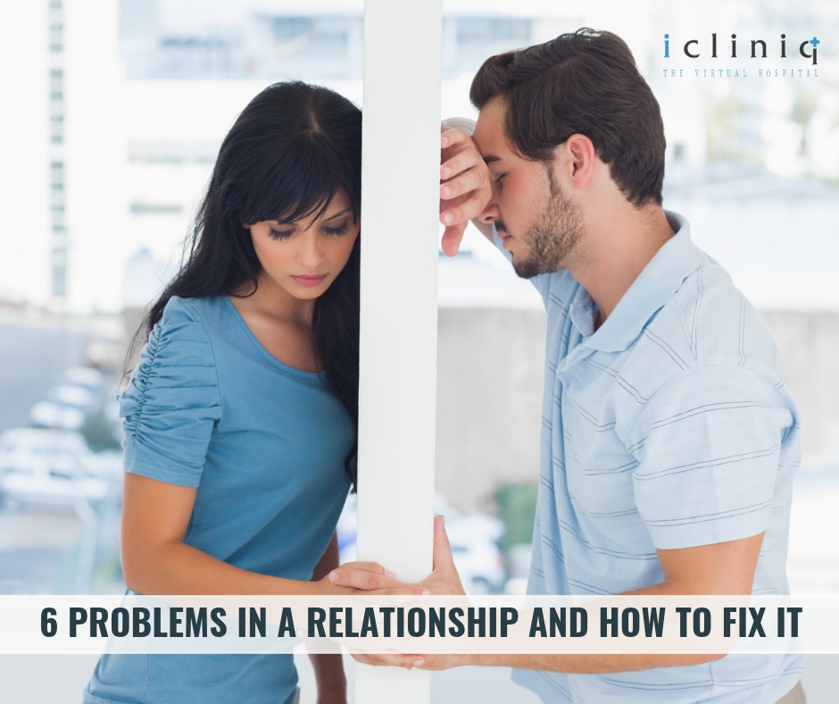 6 Problems in a Relationship and How to Fix it