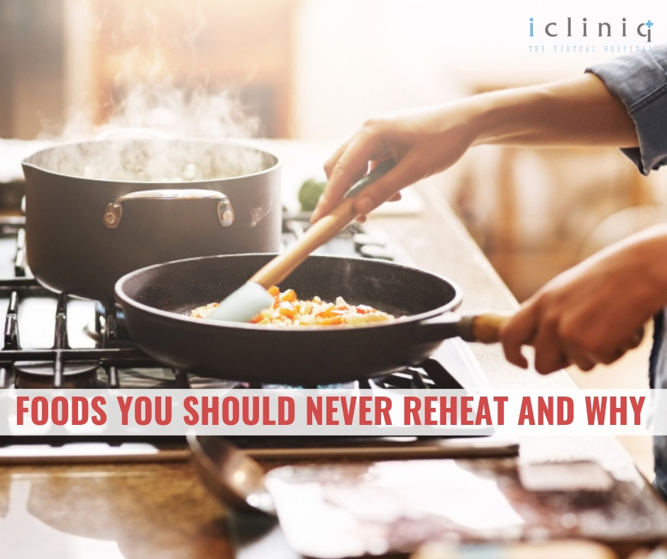 Foods You Should Never Reheat and Why