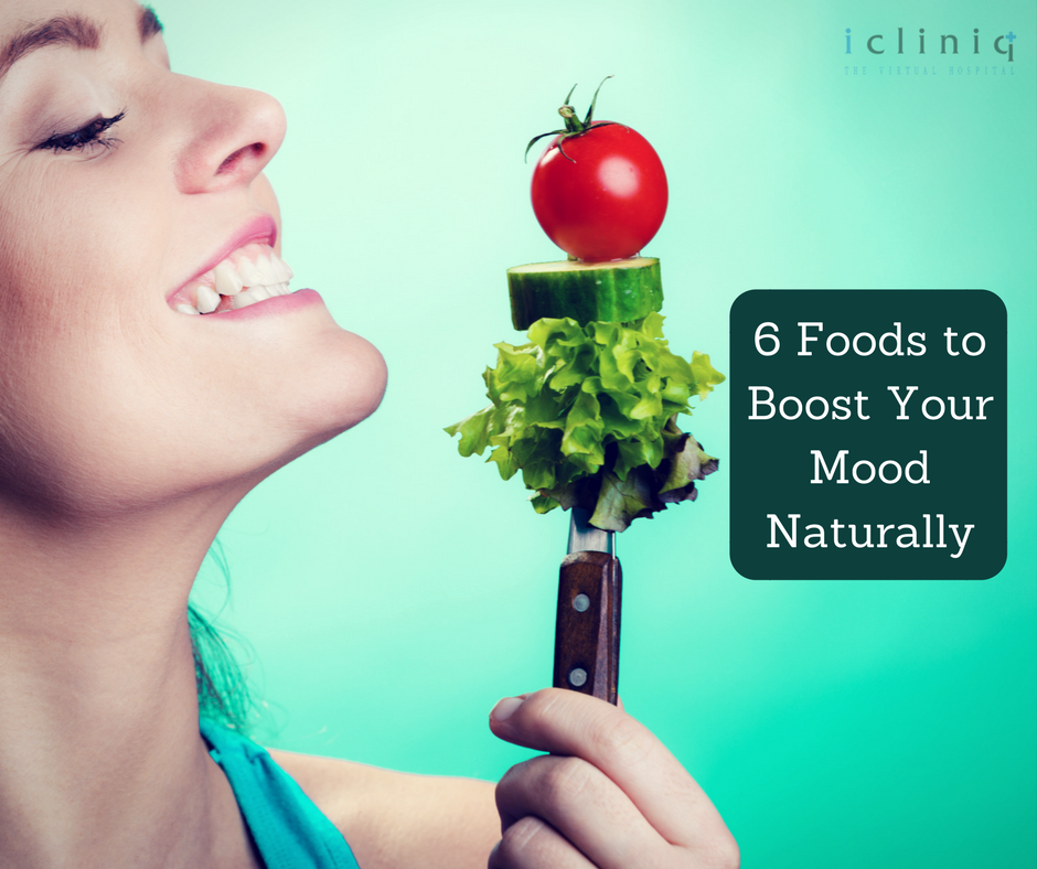 6 Foods to Boost Your Mood Naturally