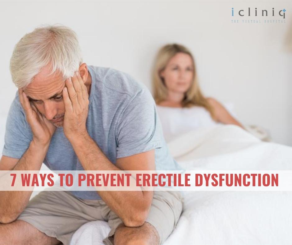 7 Ways to Prevent Erectile Dysfunction