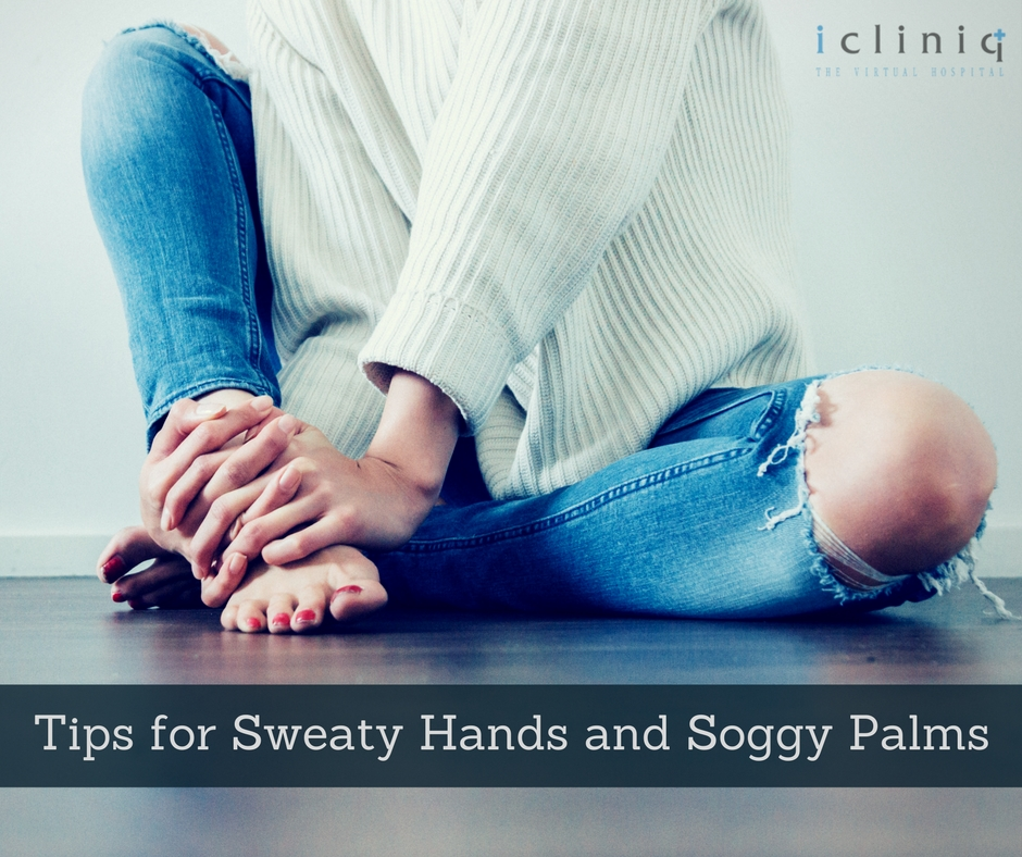 Tips to Avoid Sweaty Hands and Soggy Palms
