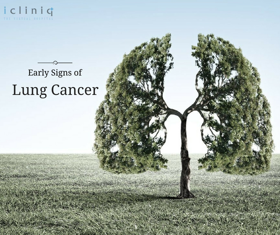 6 Early Signs of Lung Cancer
