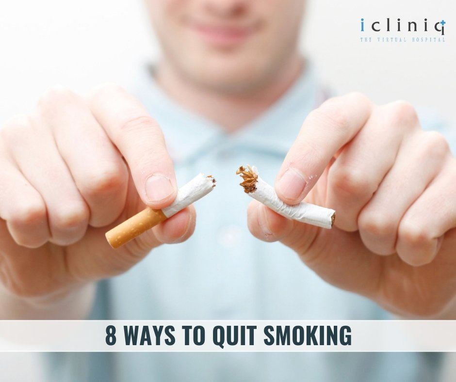 8 Ways to Quit Smoking
