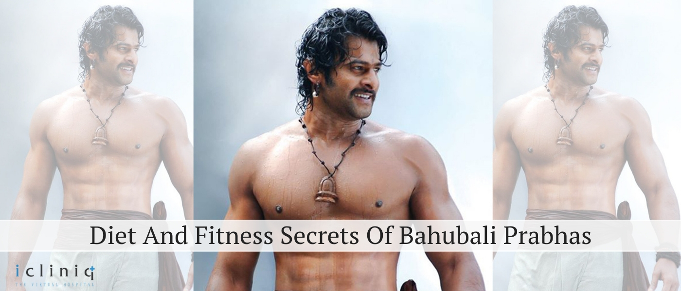 Diet And Fitness Secrets Of Bahubali Prabhas