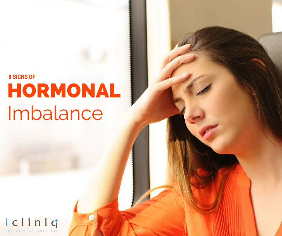 8 Signs Of Hormonal Imbalance