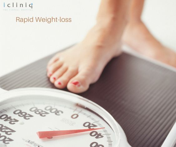 rapid weight loss itchy skin