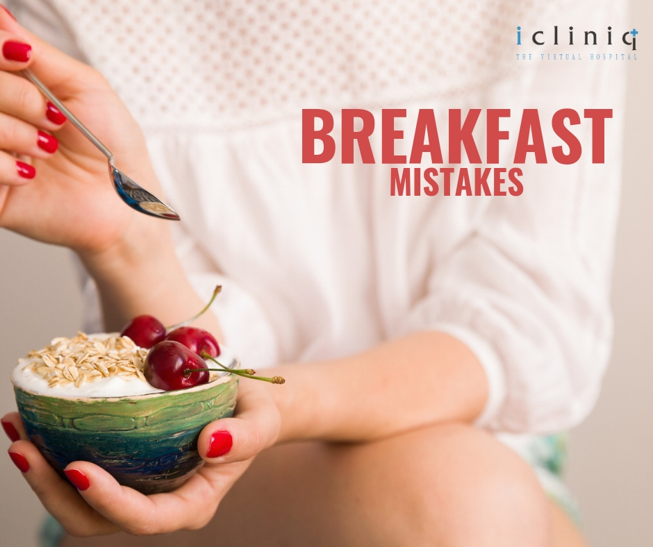 6 Breakfast Mistakes that Cause Weight Gain