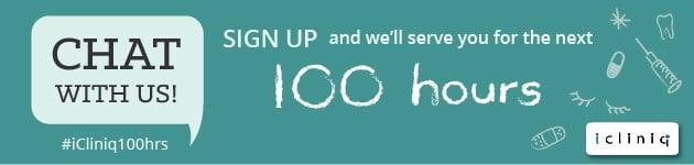 #icliniq100hrs