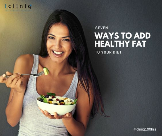 7 Ways to Add Healthy Fat to Your Diet