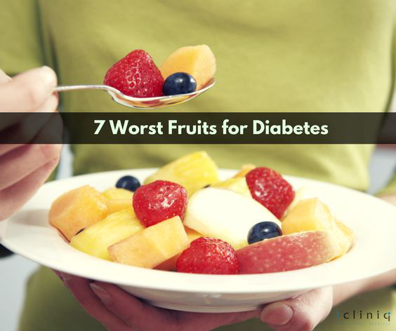 7 Worst Fruits for Diabetes