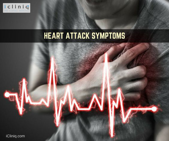Symptoms you may experience before a heart attack!