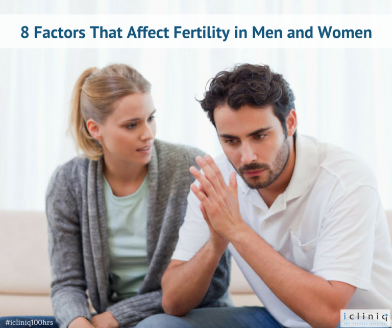 8 Factors That Affect Fertility in Men and Women