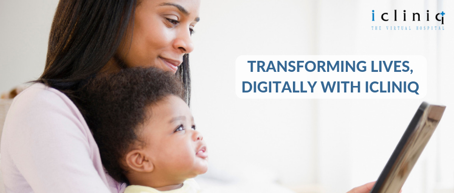 Transforming lives, digitally with iCliniq