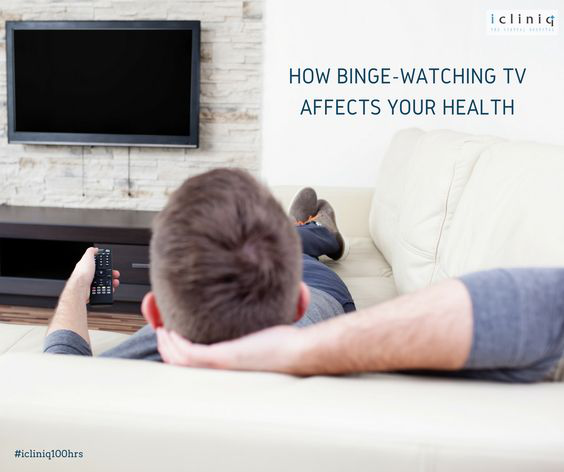 How Binge-Watching TV Affects Your Health