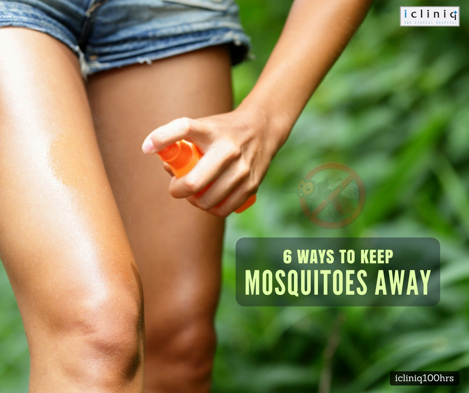 6 Ways To Keep Mosquitoes Away