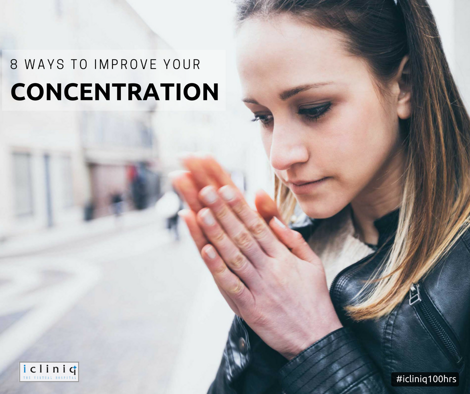 8 Ways to Improve Your Concentration