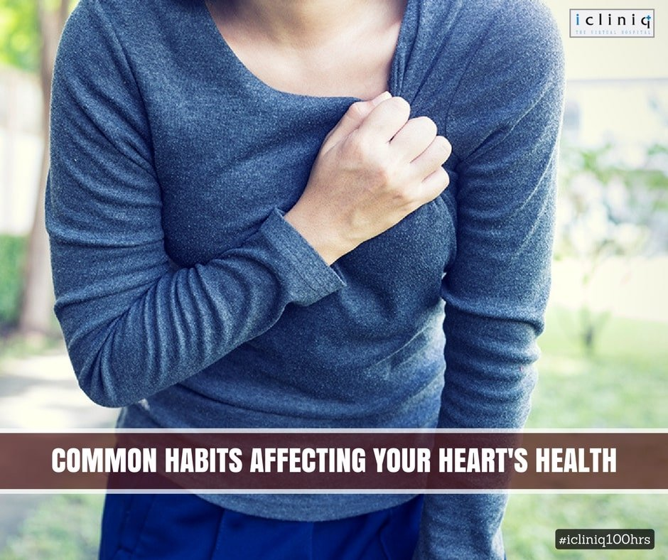 Unknown Habits That Put Your Heart In Danger