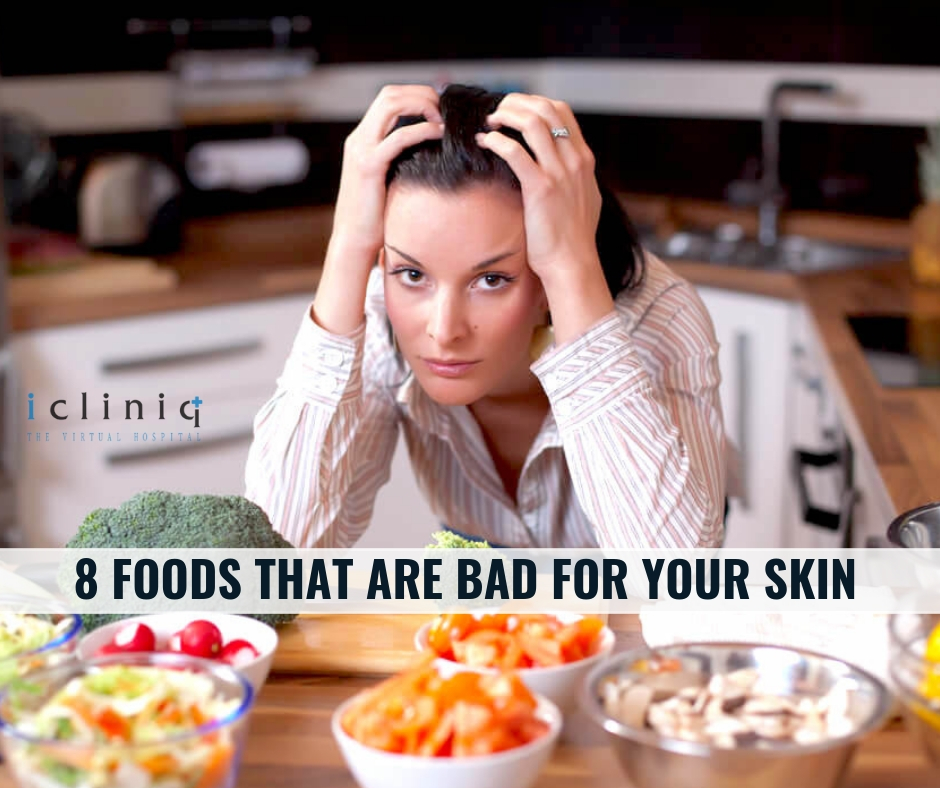 8 Foods That Are Bad For Your Skin