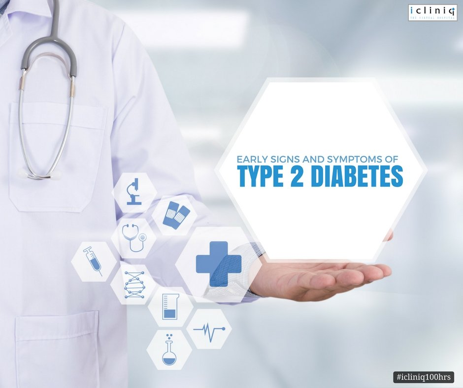 Early Signs and Symptoms of Type 2 Diabetes