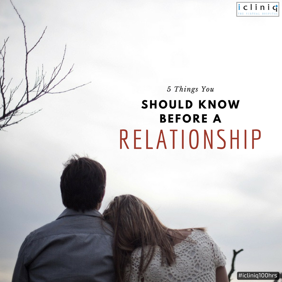 5 Things You Should Know Before Entering A Relationship