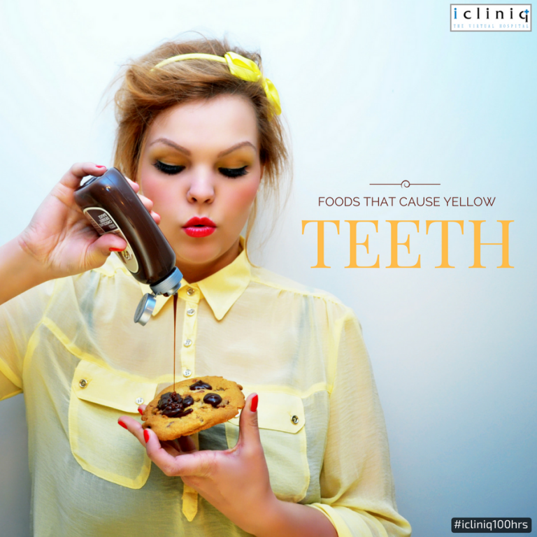 8 Foods That Cause Yellow Teeth