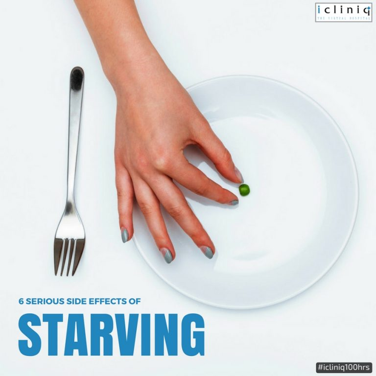6 Serious Side Effects Of Starving