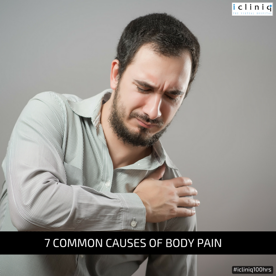 7 Common Causes of Body Pain