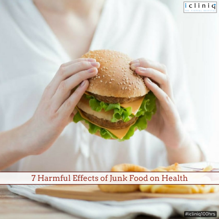 7 Harmful Effects of Junk Food on Health