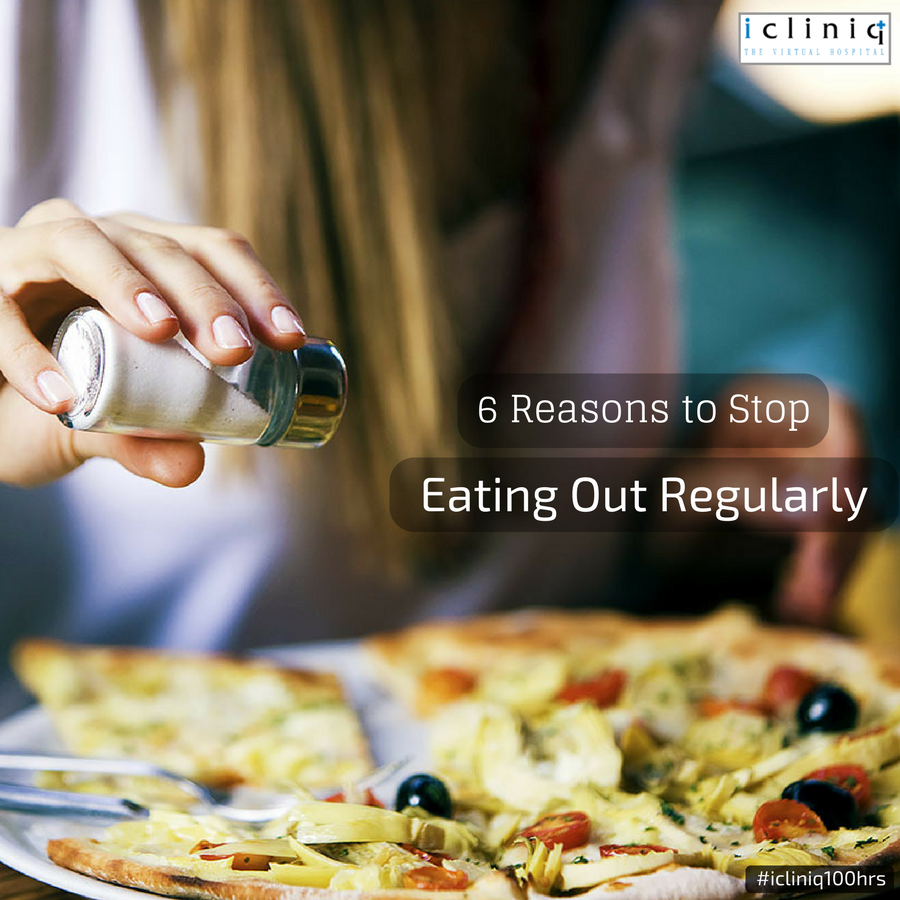 6 Reasons to Stop Eating Out Regularly