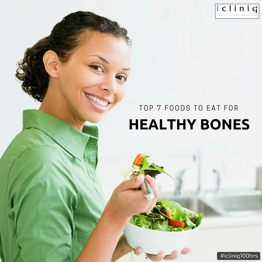 Top 7 Foods To Eat For Healthy Bones