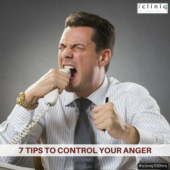 7 Tips to Control your Anger