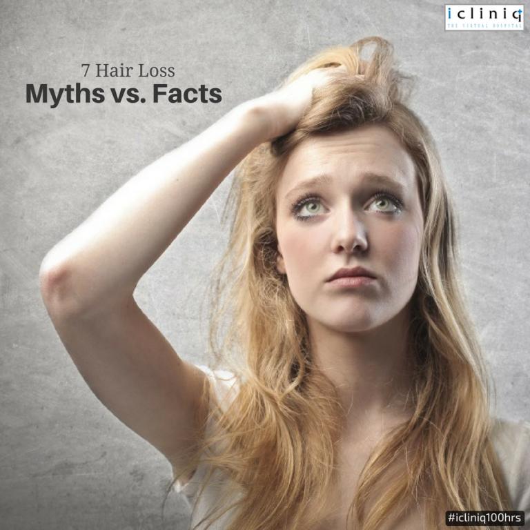 7 Hair Loss Myths vs. Facts