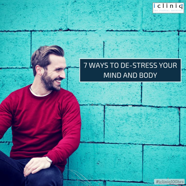 7 Ways to De-stress Your Mind and Body