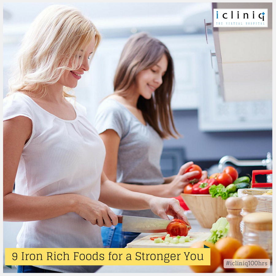 9 Iron Rich Foods for a Stronger You