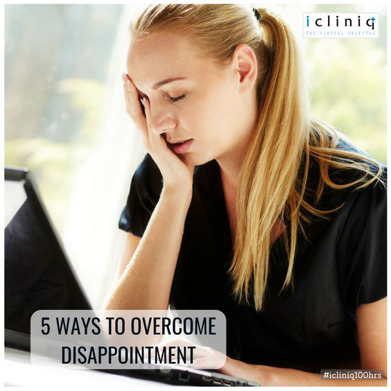5 Ways to Overcome Disappointment