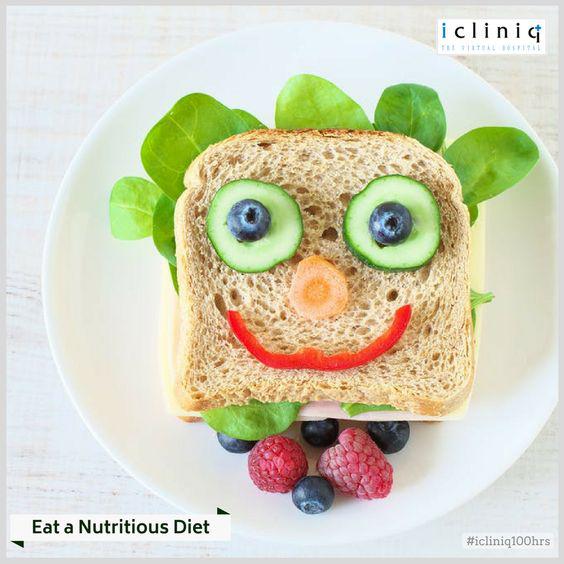Eat a Nutritious Diet