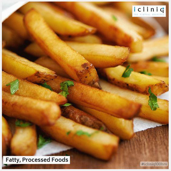 Fatty, Processed Foods