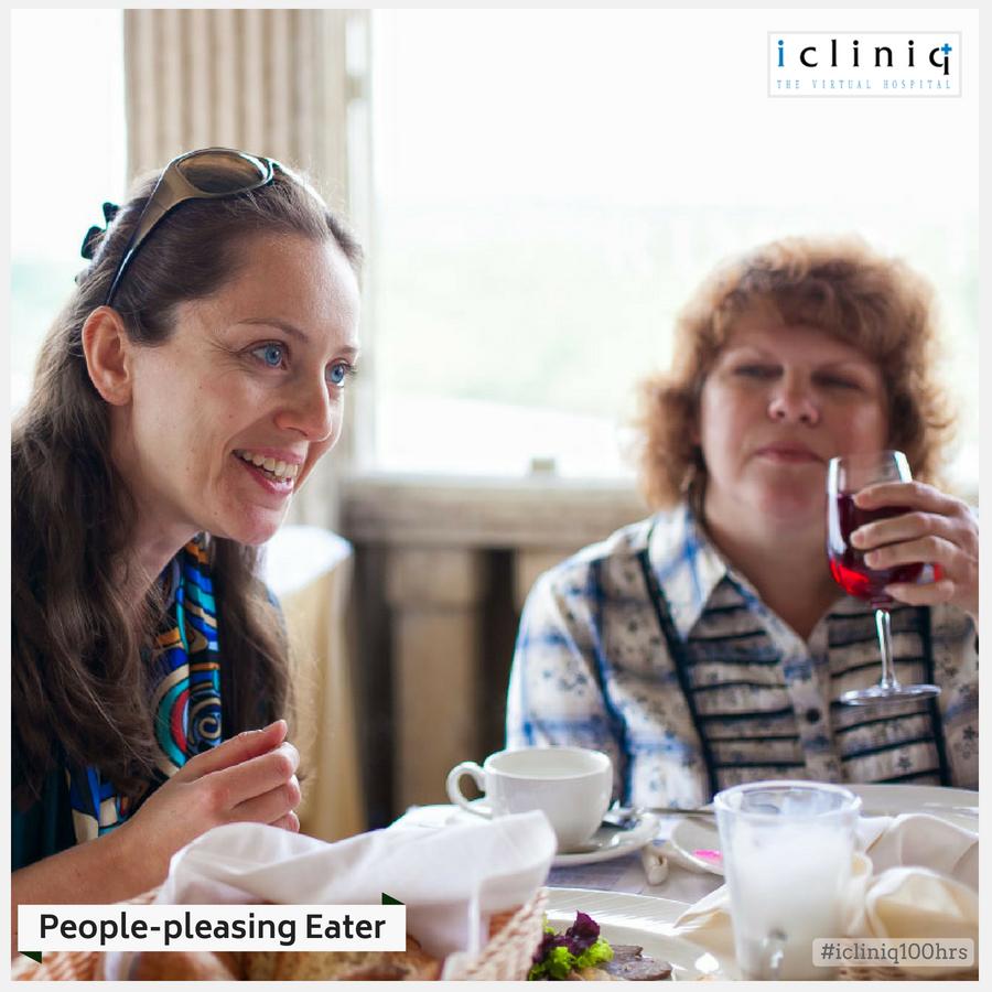 PEOPLE-PLEASING EATER