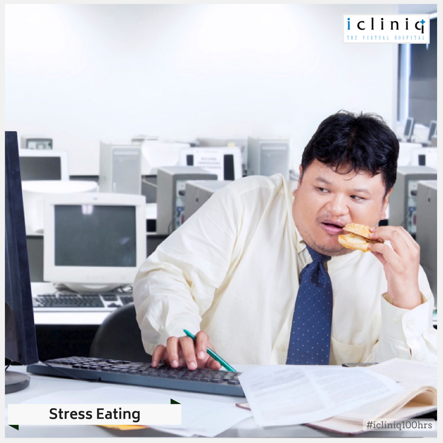 STRESS-INDUCED EATING
