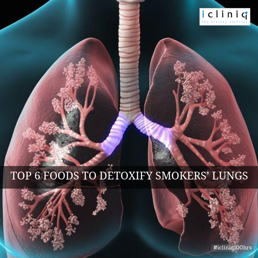 Top 6 Foods to Detoxify Smokers' Lungs