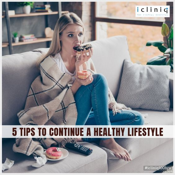 5 Tips to Continue a Healthy Lifestyle
