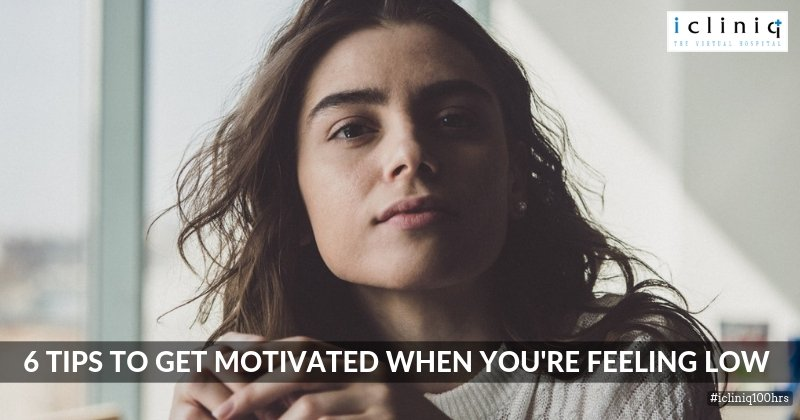 6 Tips To Get Motivated When You're Feeling Low