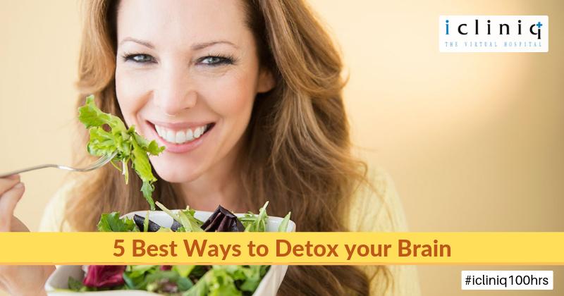 5 Best Ways to Detox your Brain