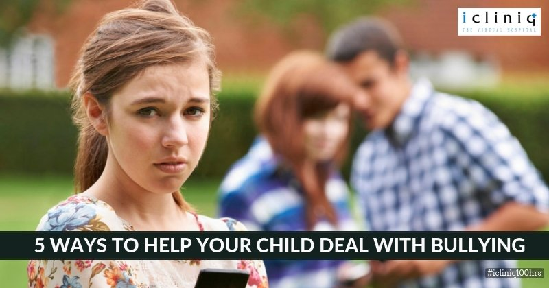 5 Ways to Help Your Child Deal With Bullying