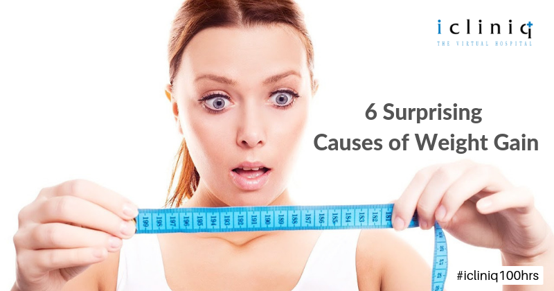 6 Surprising Causes of Weight Gain