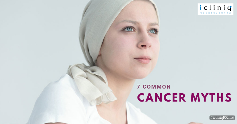 7 Common Cancer Myths