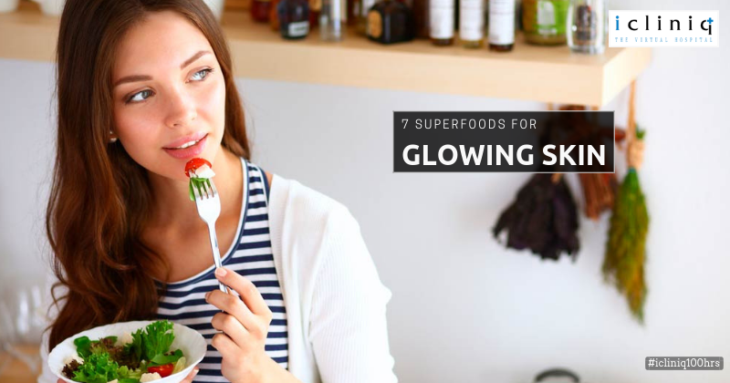 7 Superfoods for Glowing Skin